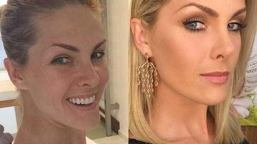 Impressionante como elas ficam com e sem maquiagem