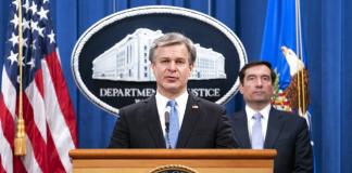 china diz prisão política fbi EUA