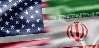 bandeira EUA e IRÃ