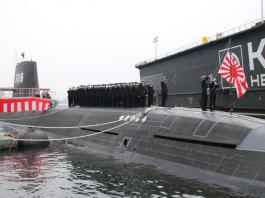 novo submarino do japão