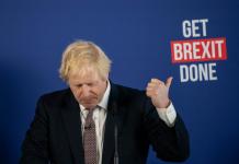 Boris get brexit done