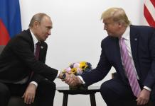 Trump EUA e Putin Russia acordo nuclear