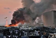 explosão porto de beirute