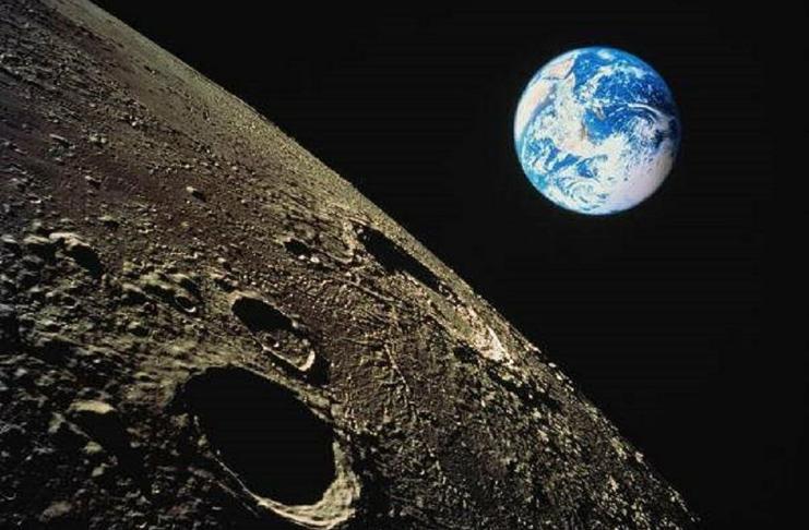lua e a terra