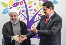 Maduro venezuela e Rouhani irã eua ameaça míssil