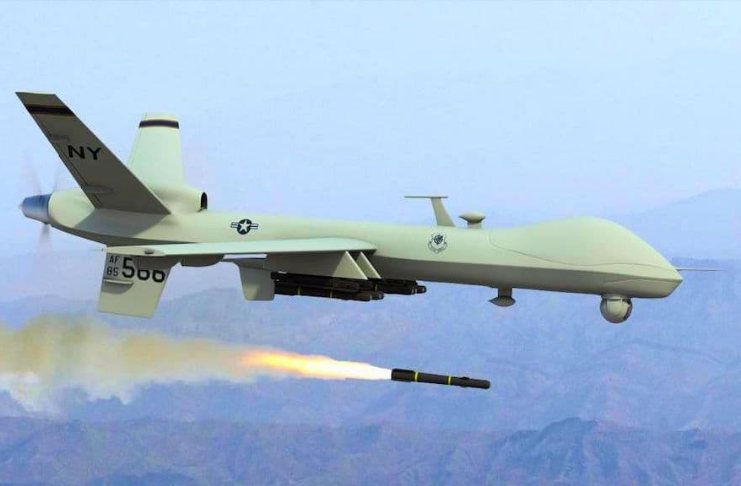 drone de ataque EUA