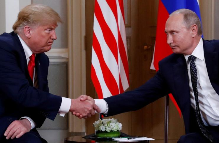 Trump e Putin acordo