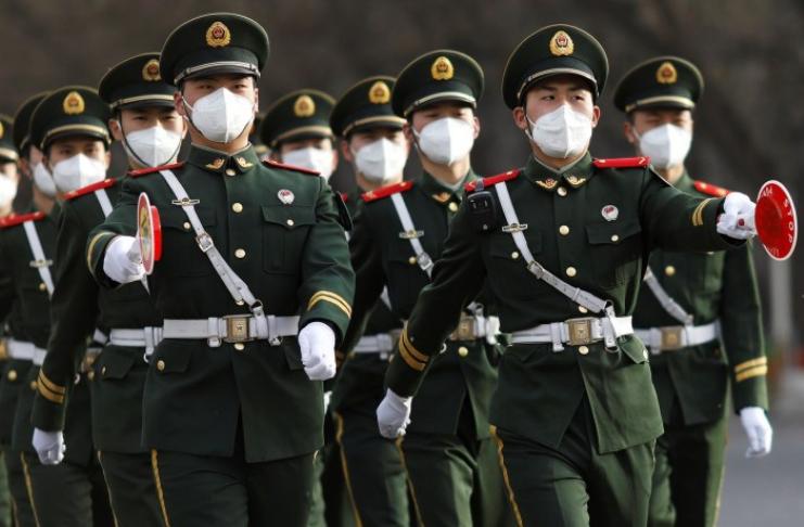 soldados chineses taiwan