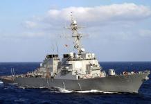 navio destroyer americano
