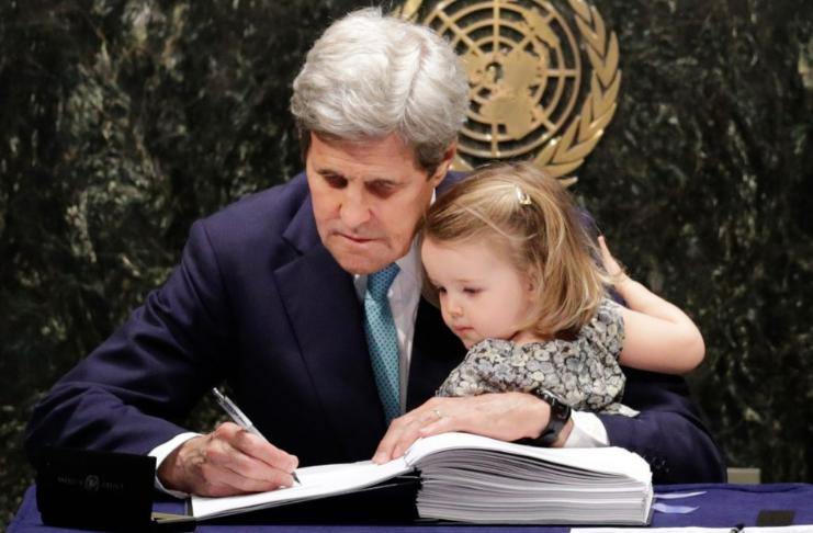 A participação dos EUA no acordo climático de Paris expira à meia-noite