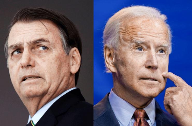 Jair Bolsonaro adia parabenizar Joe Biden em meio a acusações de fraude
