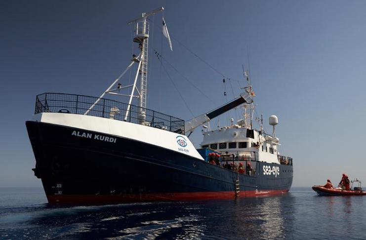 ONG Alemã de táxis de migrantes adiciona novo navio maior a ser lançado em 2021
