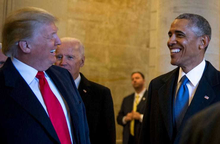 Obama diz a Trump para 'colocar o país em primeiro lugar' e conceder a eleição
