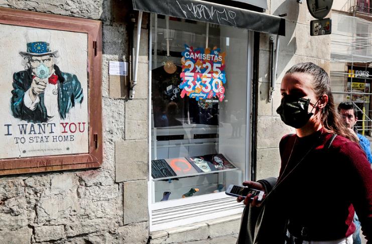 Novo bloqueio por coronavírus na Grécia exige que as pessoas enviem mensagens de texto às autoridades antes de sair de casa