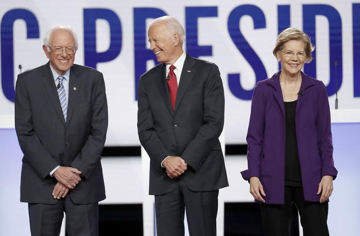 A equipe de transição de Joe Biden inclui assessores de Warren e Sanders, executivos de tecnologia