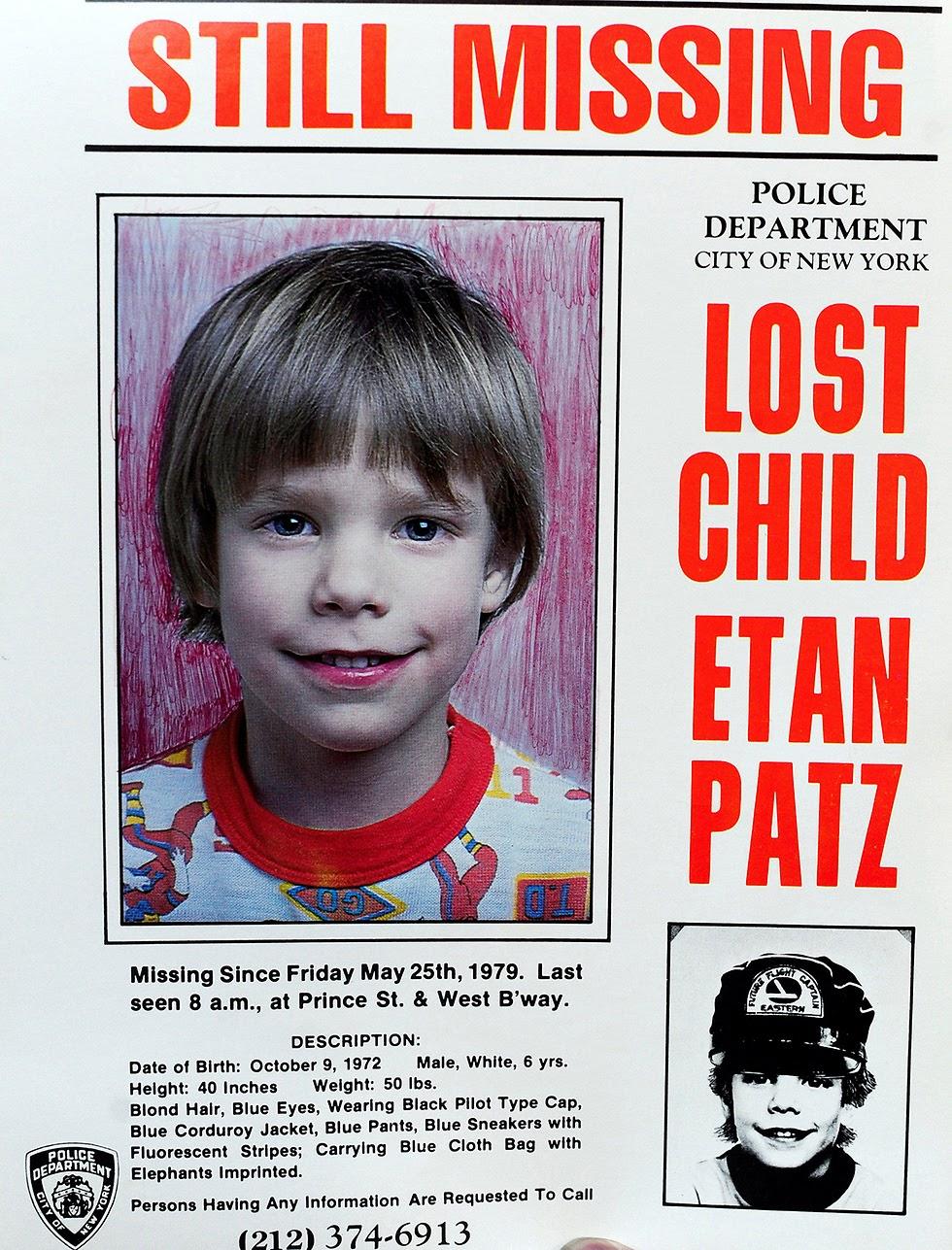 Descubra o que aconteceu com Etan Patz - Desvendando um caso de quase 40 anos