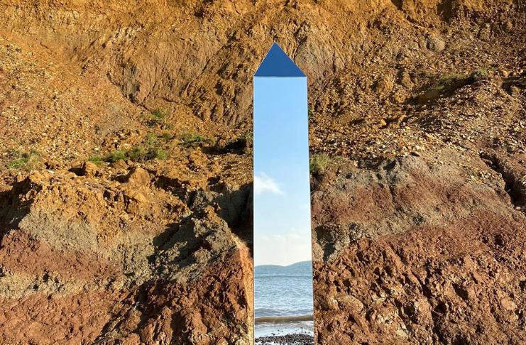 Um quarto monólito foi encontrado na Ilha de Wight