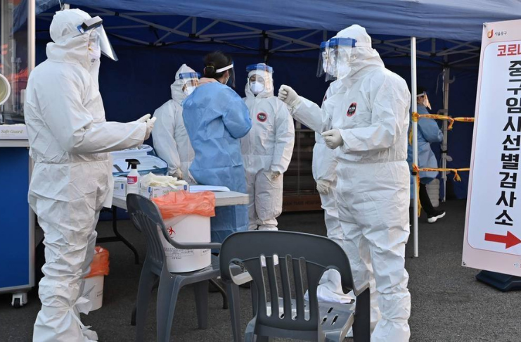 A Coreia do Sul confirma os primeiros casos de variante COVID-19