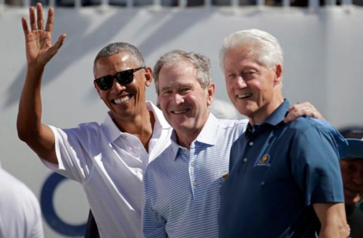 Clinton, Bush e Obama desejam tomar vacina COVID-19 ao vivo na TV