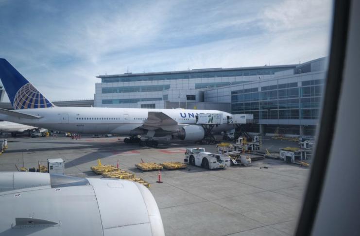 Quase 1,3 milhão viajou pelos aeroportos dos EUA no domingo