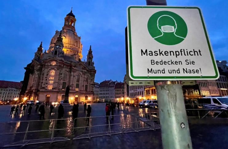 Alemanha alarmada com ameaça representada por negadores do coronavírus