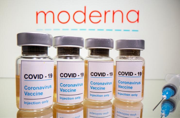 EUA enviarão doses de 6 milhões da vacina COVID-19 da Moderna, se aprovada