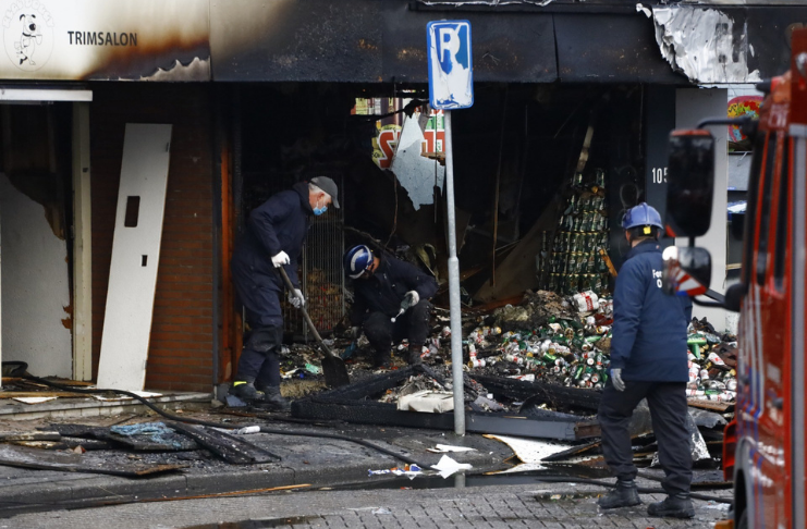 Na Holanda, três supermercados poloneses foram bombardeados em dois dias