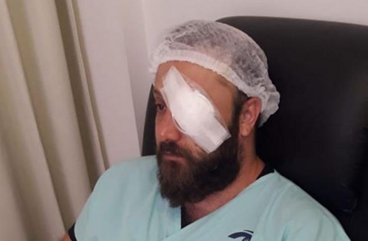 Homem israelense recupera a visão após transplante de córnea artificial