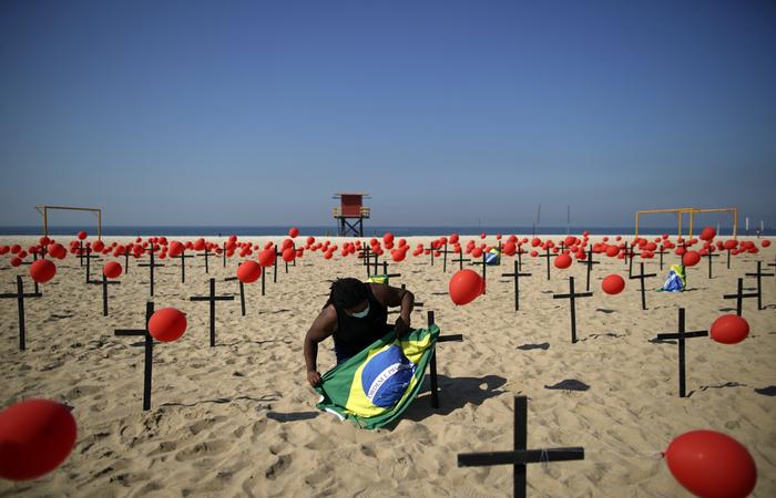 Estudo australiano aponta que o Brasil fez a pior gestão do mundo contra a Covid-19