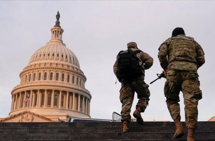Teste da Guarda Nacional do Havaí positivo para COVID-19 após implantação em Washington DC
