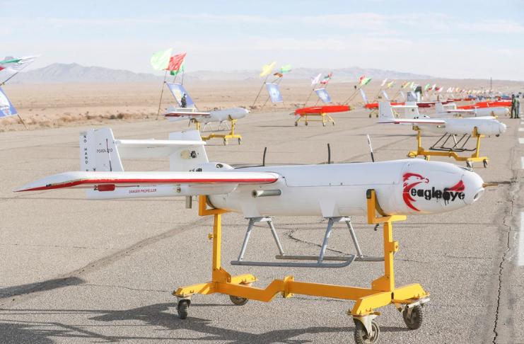 Irã lança campanha de exercícios de aeronaves com 'drones suicidas'