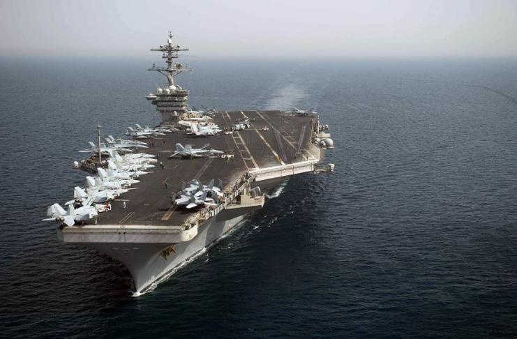Grupo transportador dos EUA entra no Mar da China Meridional em meio a tensões entre China e Taiwan