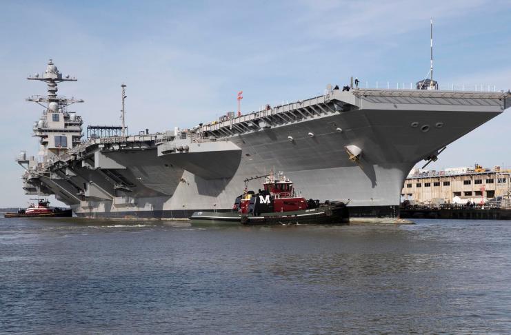 O porta-aviões da Marinha de US $ 13,2 bilhões ainda enfrenta problemas