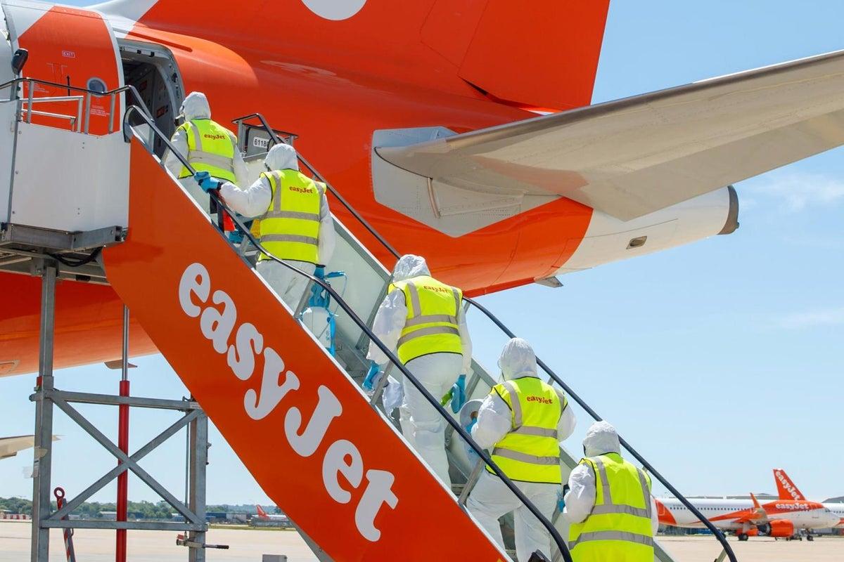 easyJet irá voar com 10% de sua capacidade
