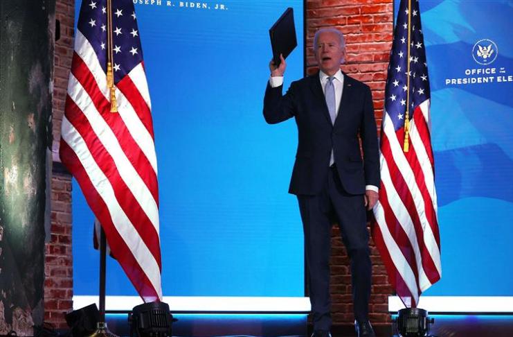 A equipe de Biden supostamente teria acesso direto às reuniões da Operação Warp Speed
