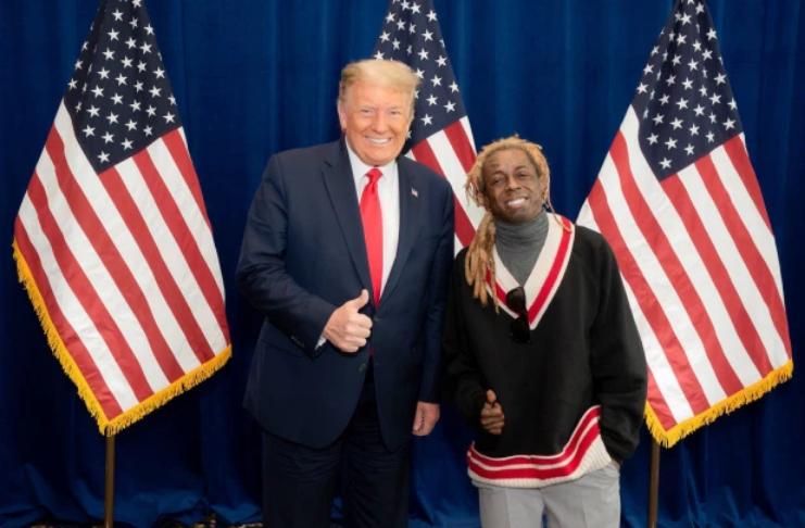 Trump perdoa Lil Wayne em caso de porte de arma na Flórida