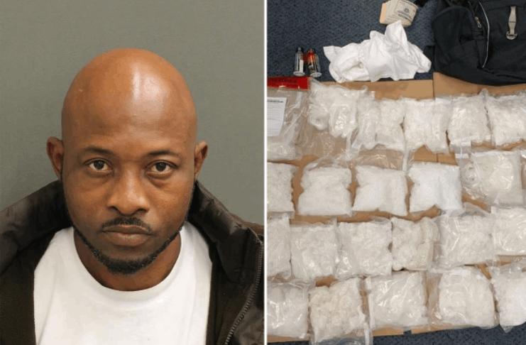 Homem tenta embarcar em vôo da Flórida com 10 quilos de detanfetamina