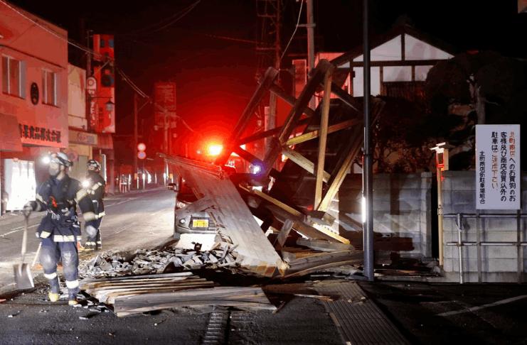 Forte terremoto atinge a costa nordeste do Japão, sacudindo Fukushima