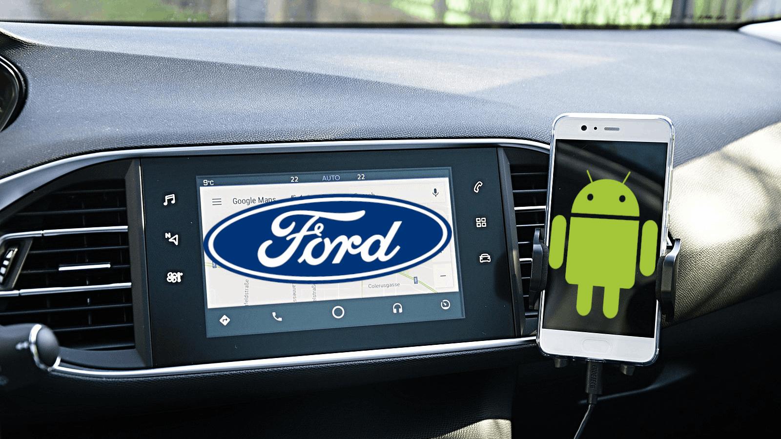 Ford e Google anunciam parceria de seis anos