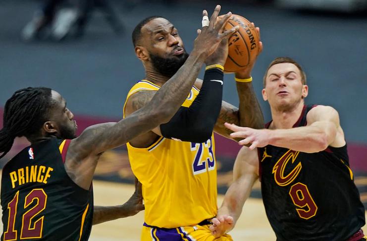 NBA: LeBron James marcou 46 pontos na temporada e vence em Cleveland