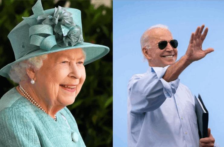 Rainha Elizabeth receberá Biden no Palácio de Buckingham antes do G7