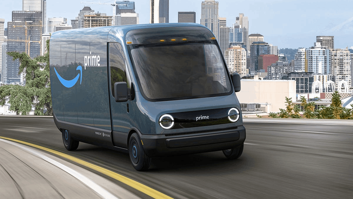 Amazon inicia testes com veículos elétricos da Rivian